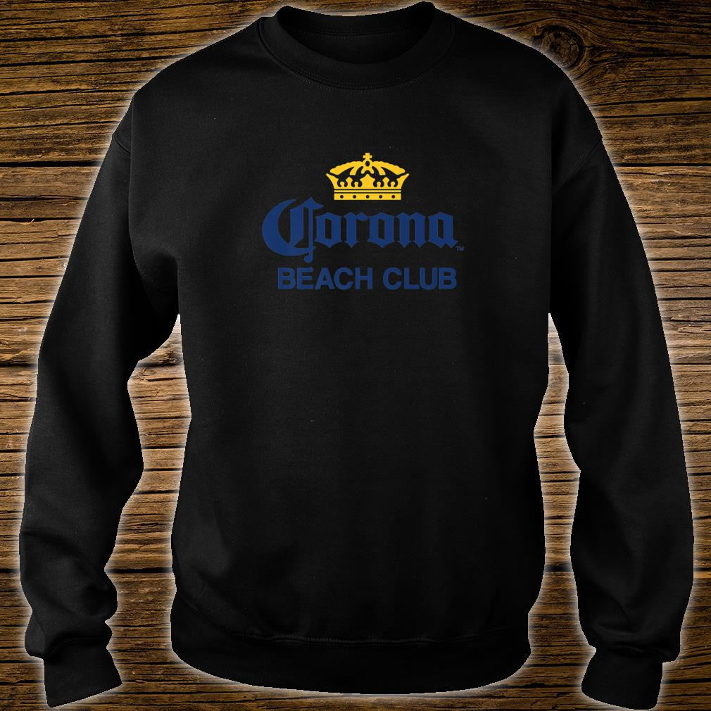 Cerveza Corona Logo With Crown Shirt sweater