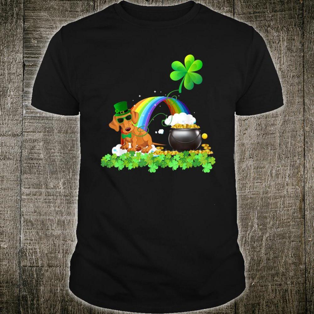 Dachshund St Patricks Day Leprechaun Dog Shirt