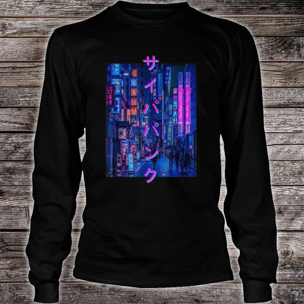 Dystopia Tokyo Aesthetic Streetwear Shirt long sleeved