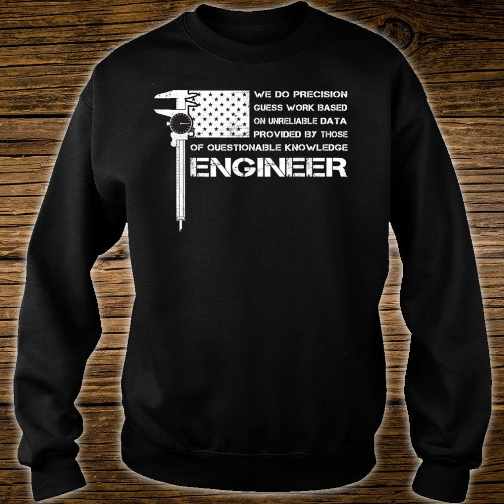 ENGINEER American USA flag perfect Shirt sweater