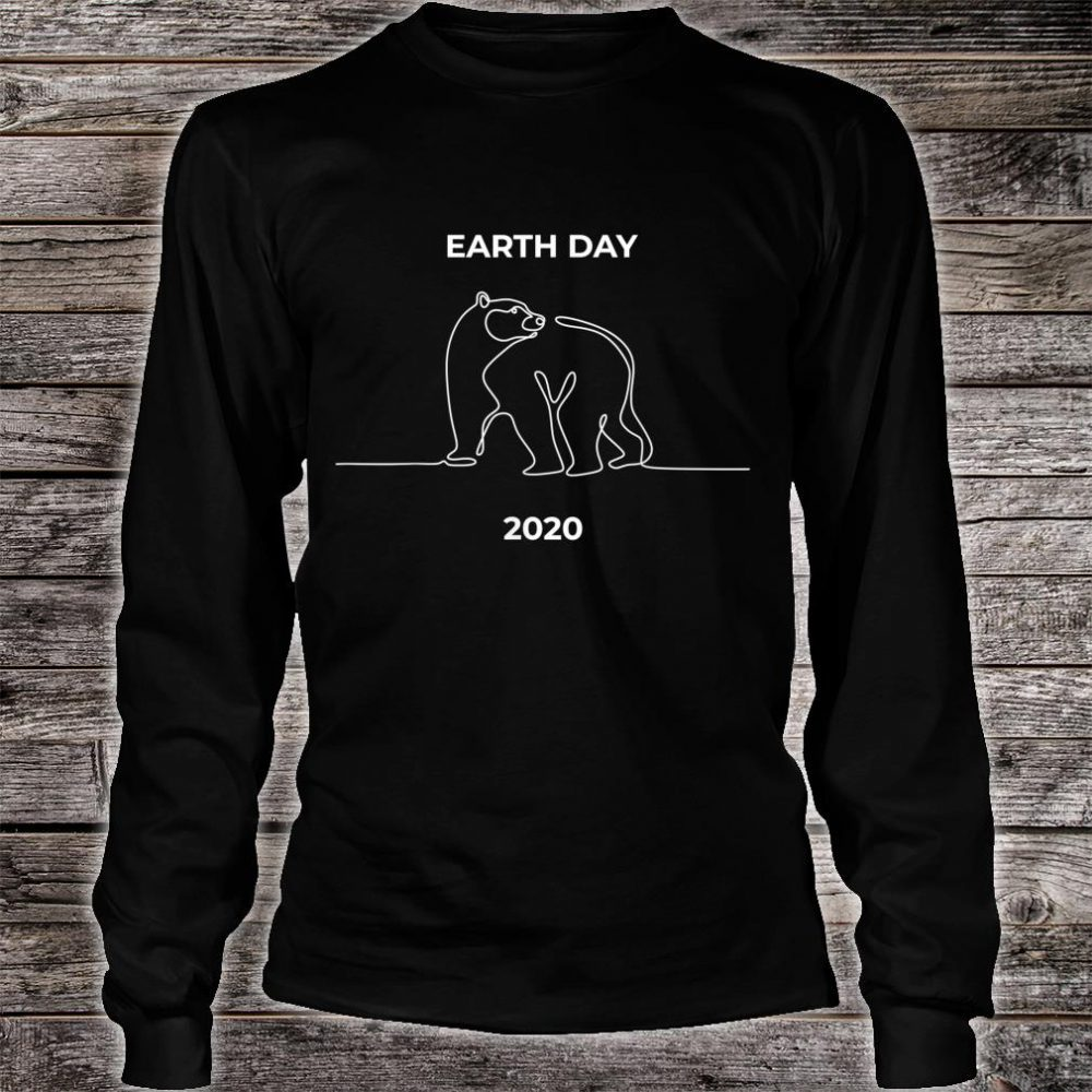 Earth Day 2020 Shirt long sleeved