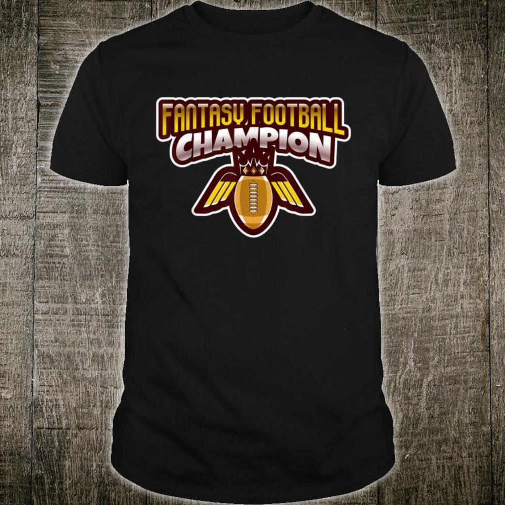 Fantasy Football Champion League Trophy Bragging Rights Shirt