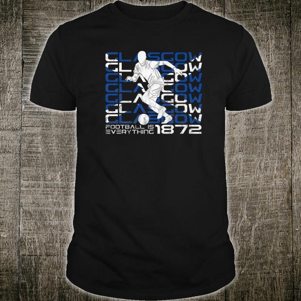 Football Is Everything Glasgow Ibrox Attack Retro Shirt