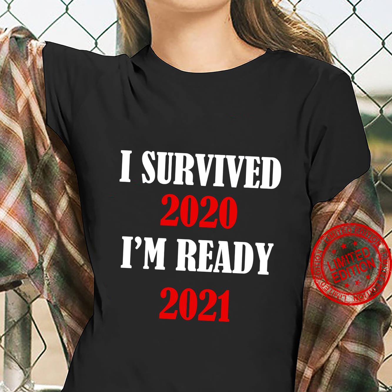 Funny 2020 For Christmas I Survived 2020 Shirt ladies tee