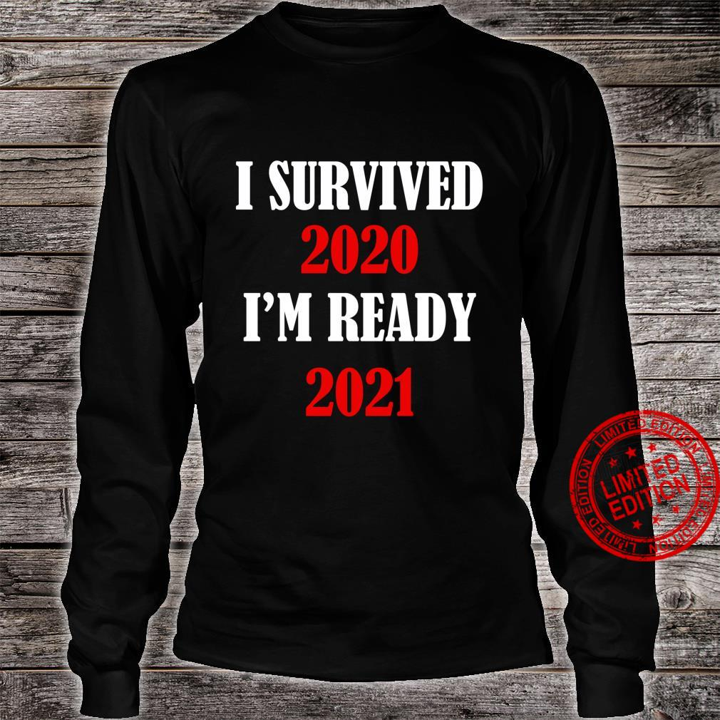 Funny 2020 For Christmas I Survived 2020 Shirt long sleeved