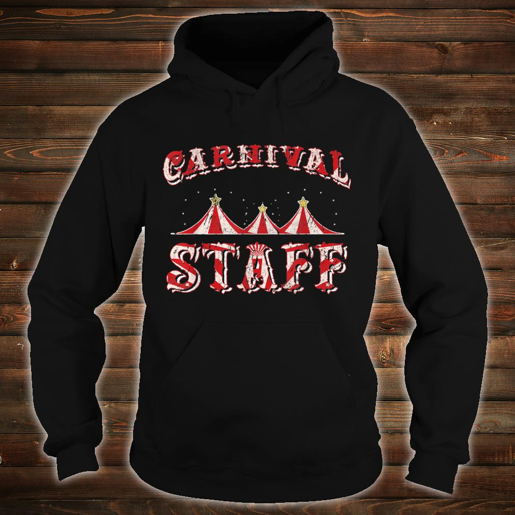 Funny Carnival Staff Costume Circus Party Girl Shirt hoodie