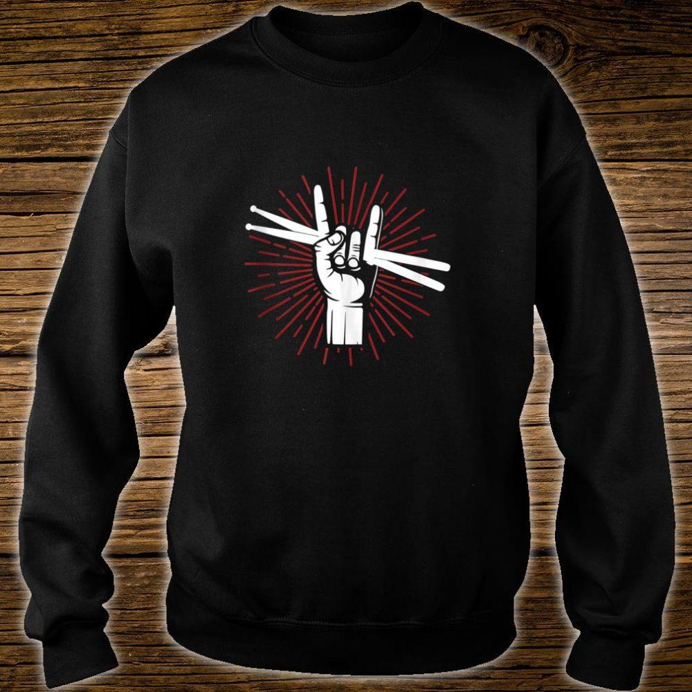 Funny Drummer Boy Shirt sweater