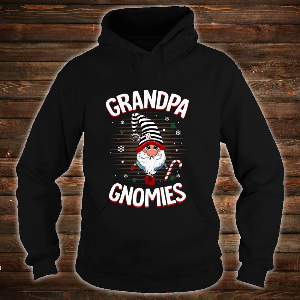 Funny GRANDPA Gnomies Costume Christmas Pajama Shirt hoodie