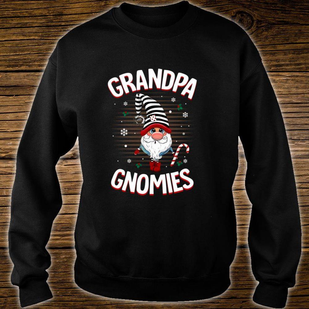 Funny GRANDPA Gnomies Costume Christmas Pajama Shirt sweater