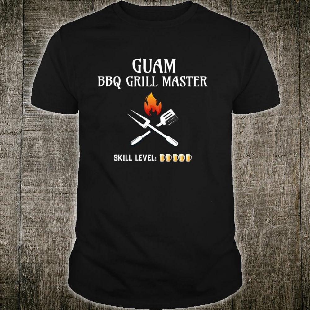 Funny Guam BBQ Grill Master Shirt