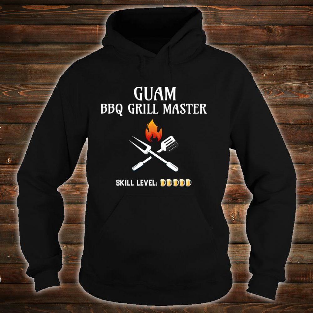 Funny Guam BBQ Grill Master Shirt hoodie