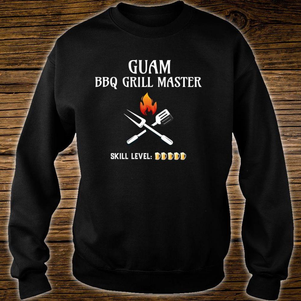 Funny Guam BBQ Grill Master Shirt sweater