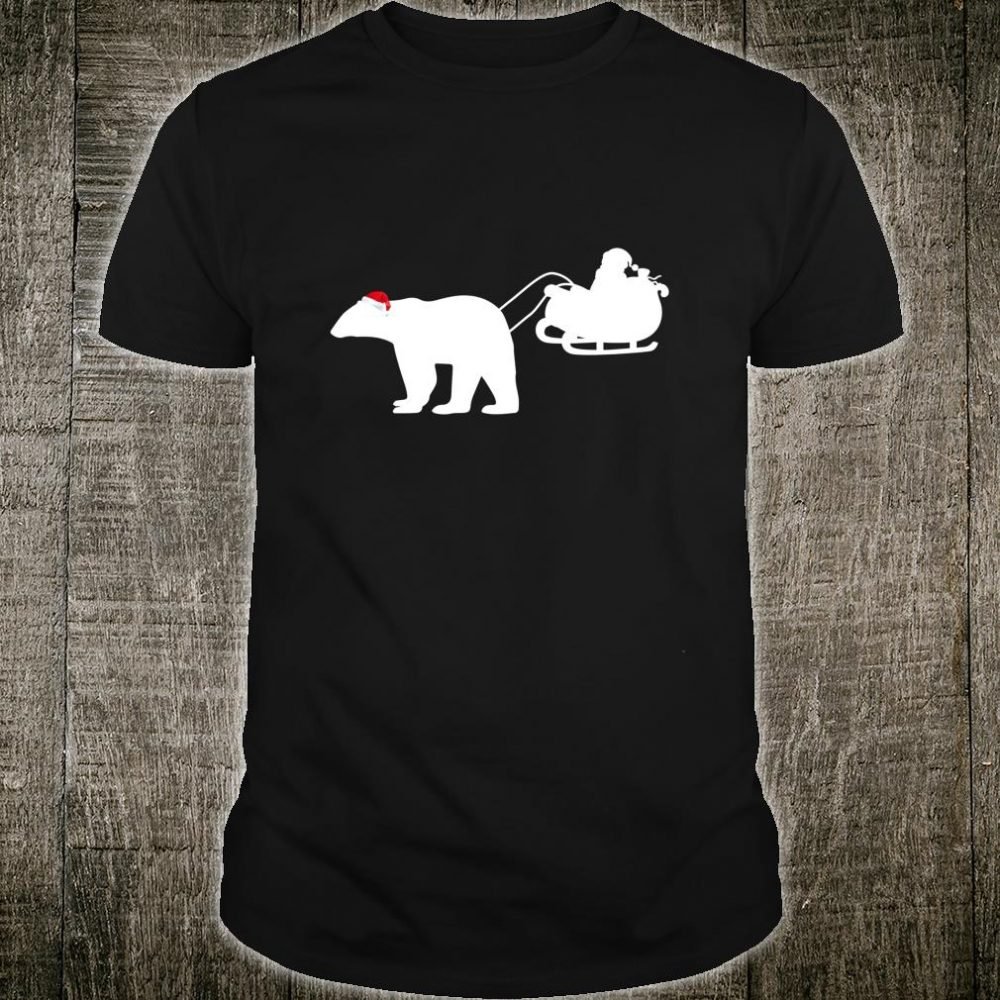 Funny Polar Bear Christmas Decorations Family Xmas Shirt