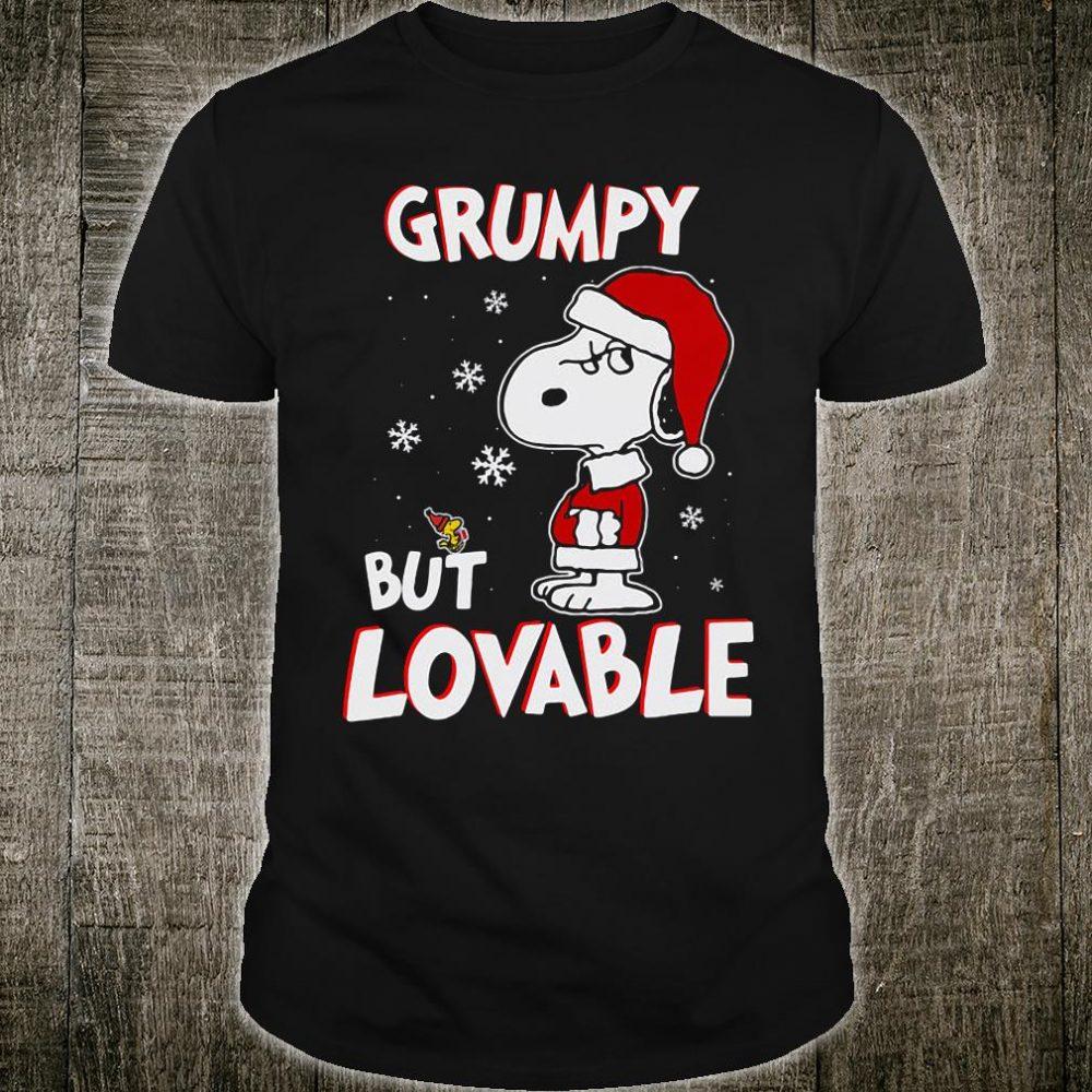 Grumpy but lovable shirt