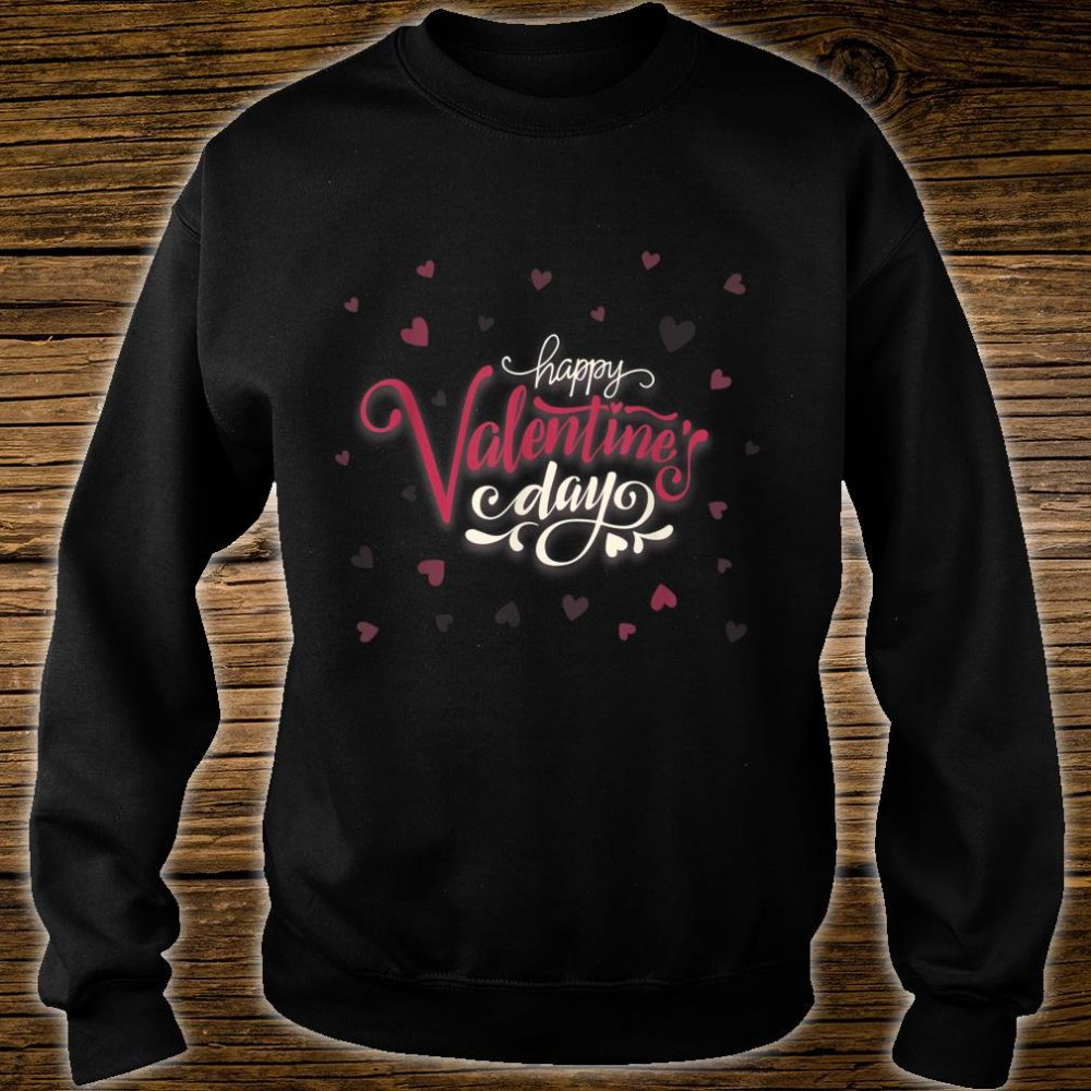 Happy Valentines Day Heart Shirt sweater