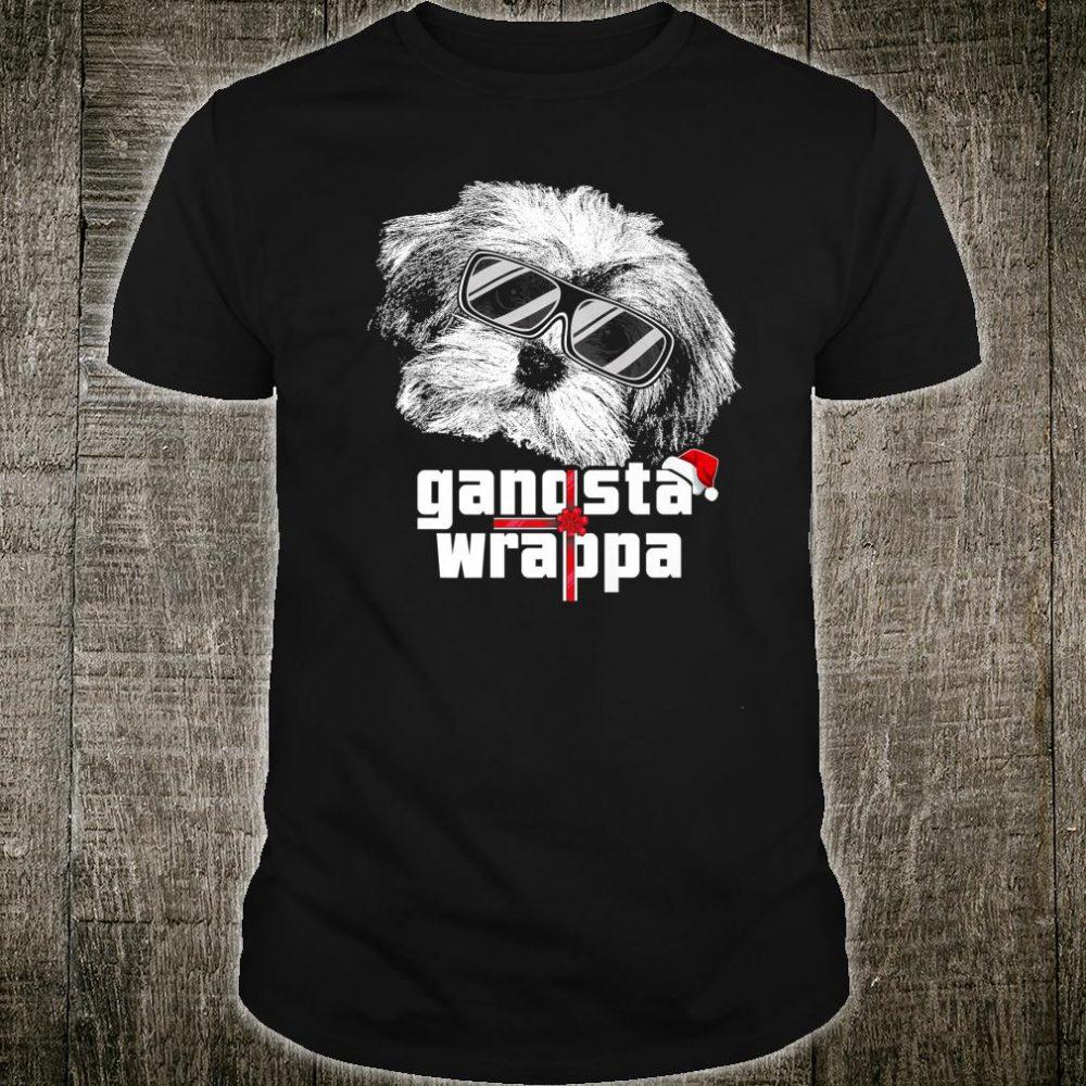 Havanese dog Gangsta Wrapper Christmas Shirt