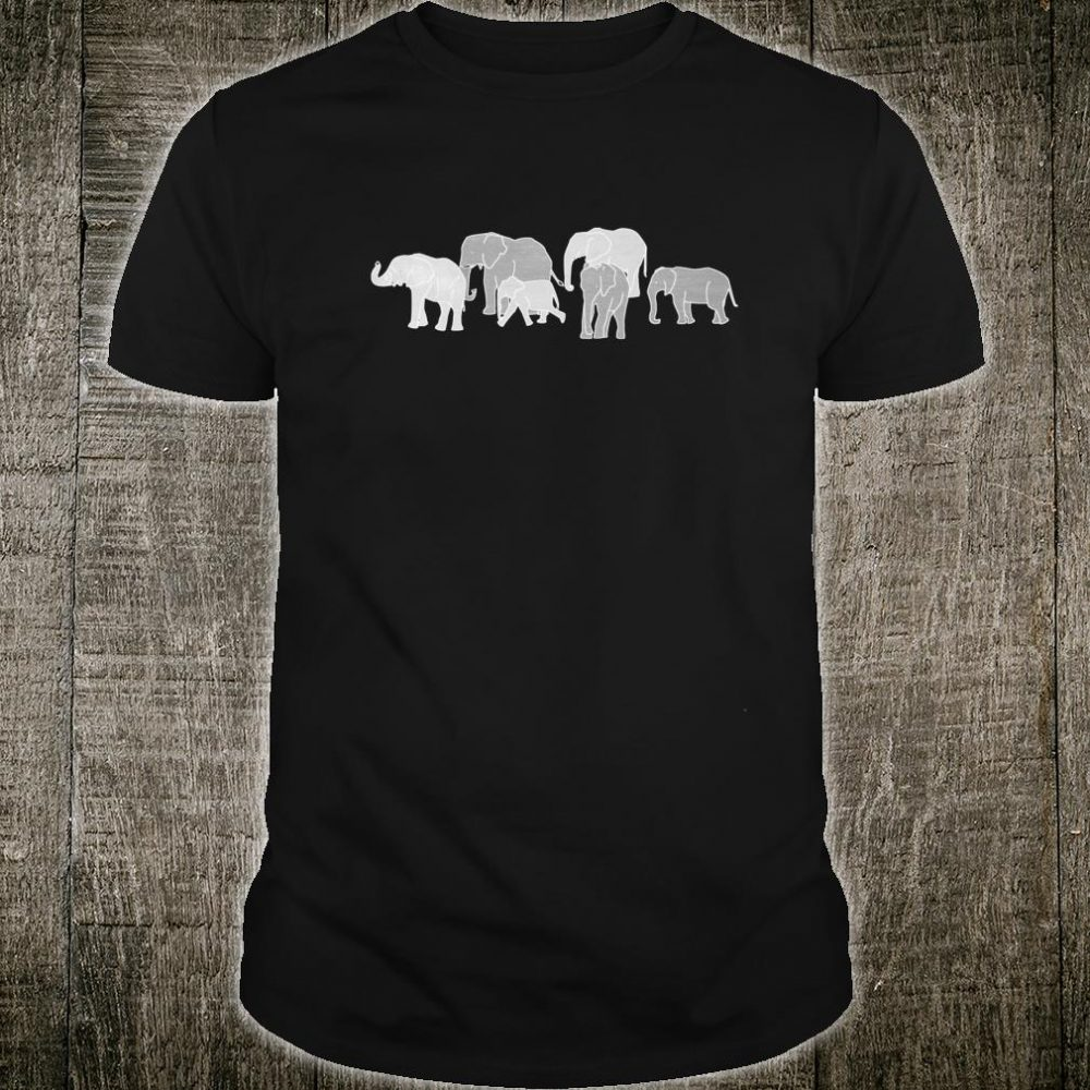 Herd of Elephants for Africa and Elephants Shirt