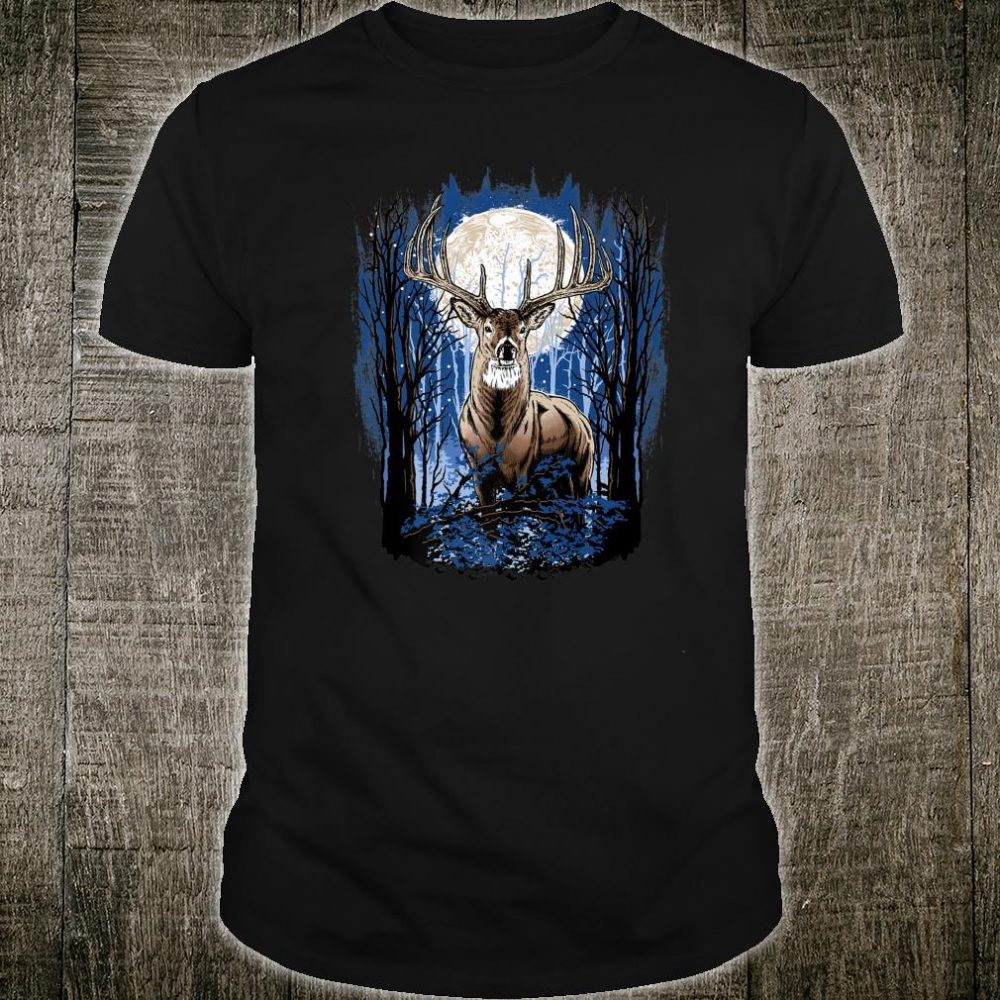Hunters Deer Hunting Big Whitetail Buck Shirt