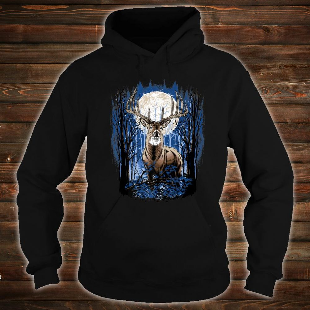 Hunters Deer Hunting Big Whitetail Buck Shirt hoodie