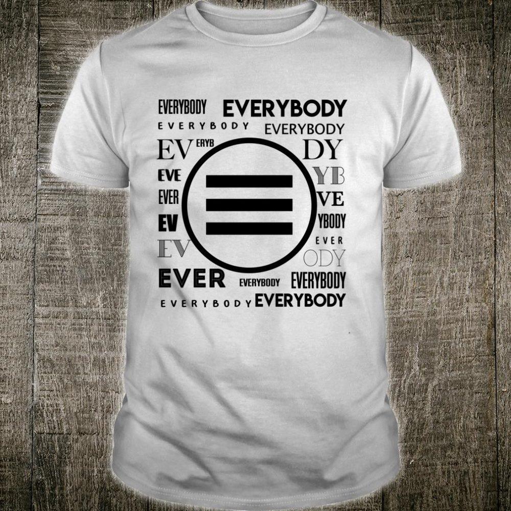 Hyshirt Logic everybody upside down music Shirt