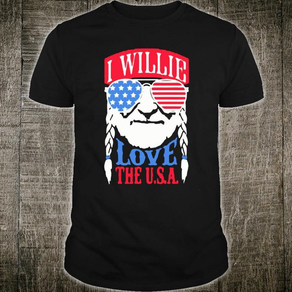 I willie love the USA shirts