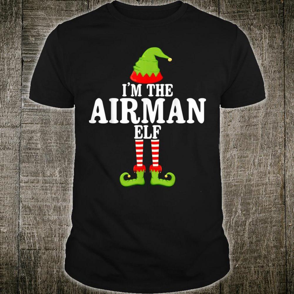 I'm TheAIRMAN Elf Group Matching Family Christmas Shirt