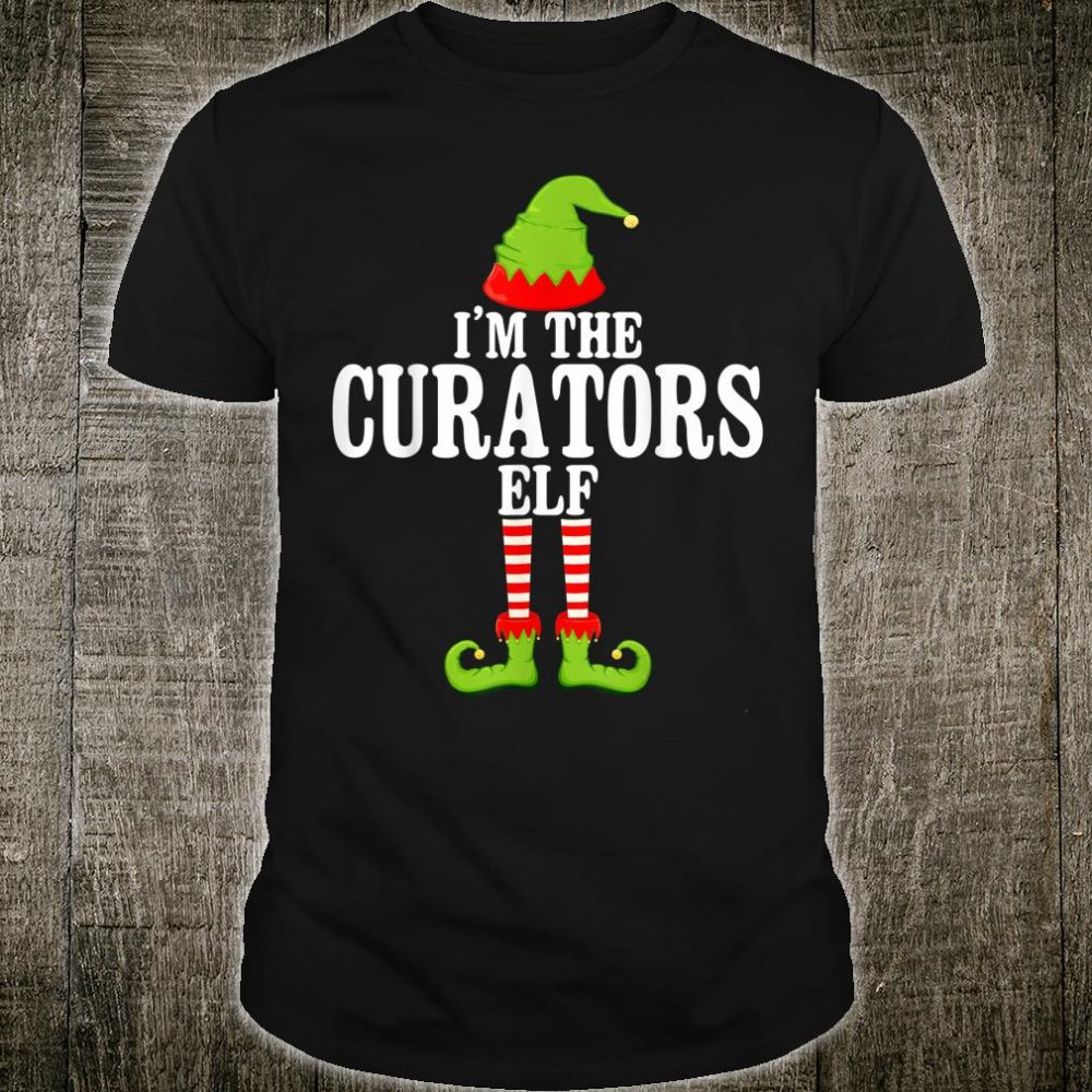 I'm TheCURATORS Elf Group Matching Family Christmas Shirt