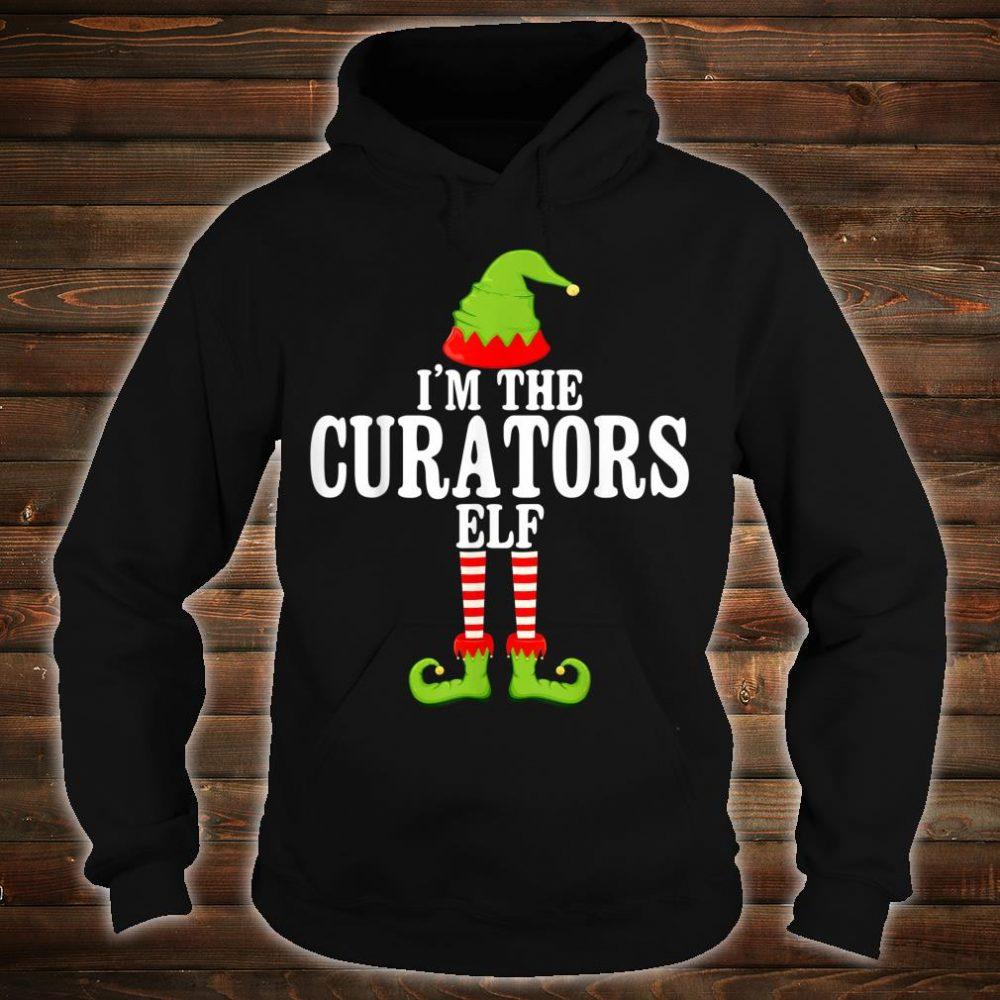 I'm TheCURATORS Elf Group Matching Family Christmas Shirt hoodie