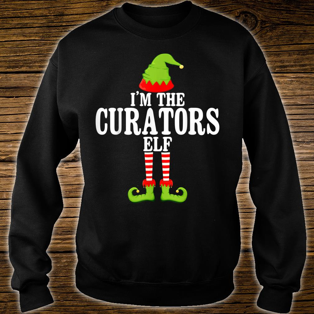 I'm TheCURATORS Elf Group Matching Family Christmas Shirt sweater