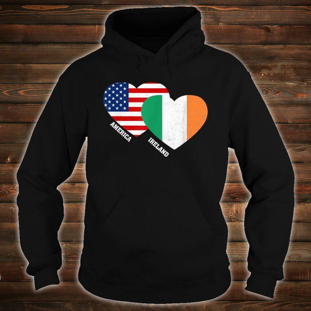 Ireland Flag Irish American Pride Vintage Shirt hoodie