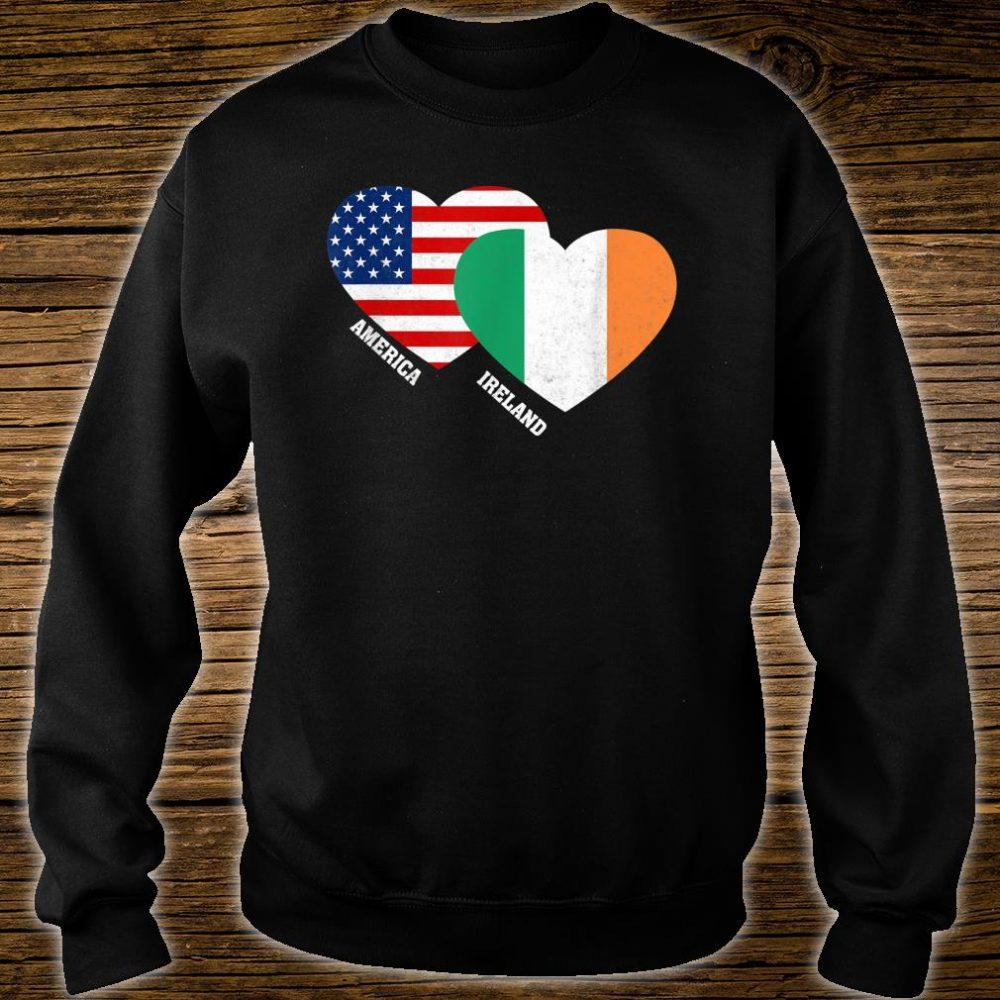Ireland Flag Irish American Pride Vintage Shirt sweater