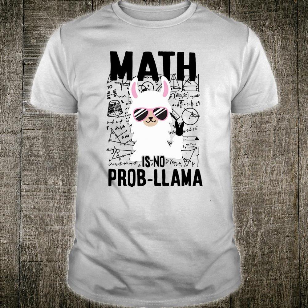 Math is no Pro-Llama shirt