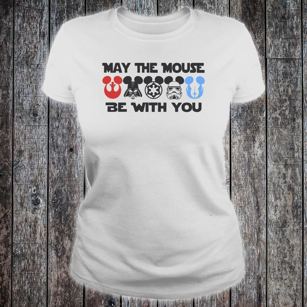 May the mouse be with you shirt ladies tee