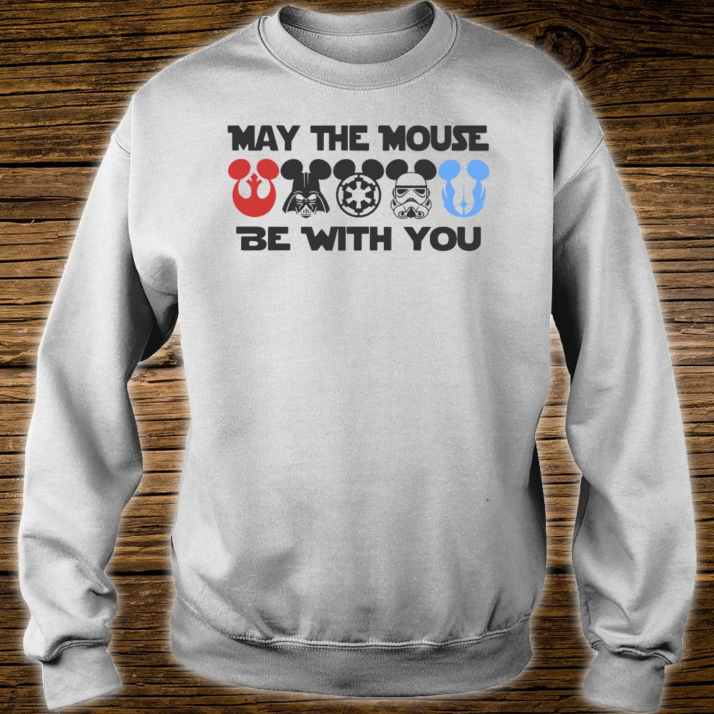 May the mouse be with you shirt sweater