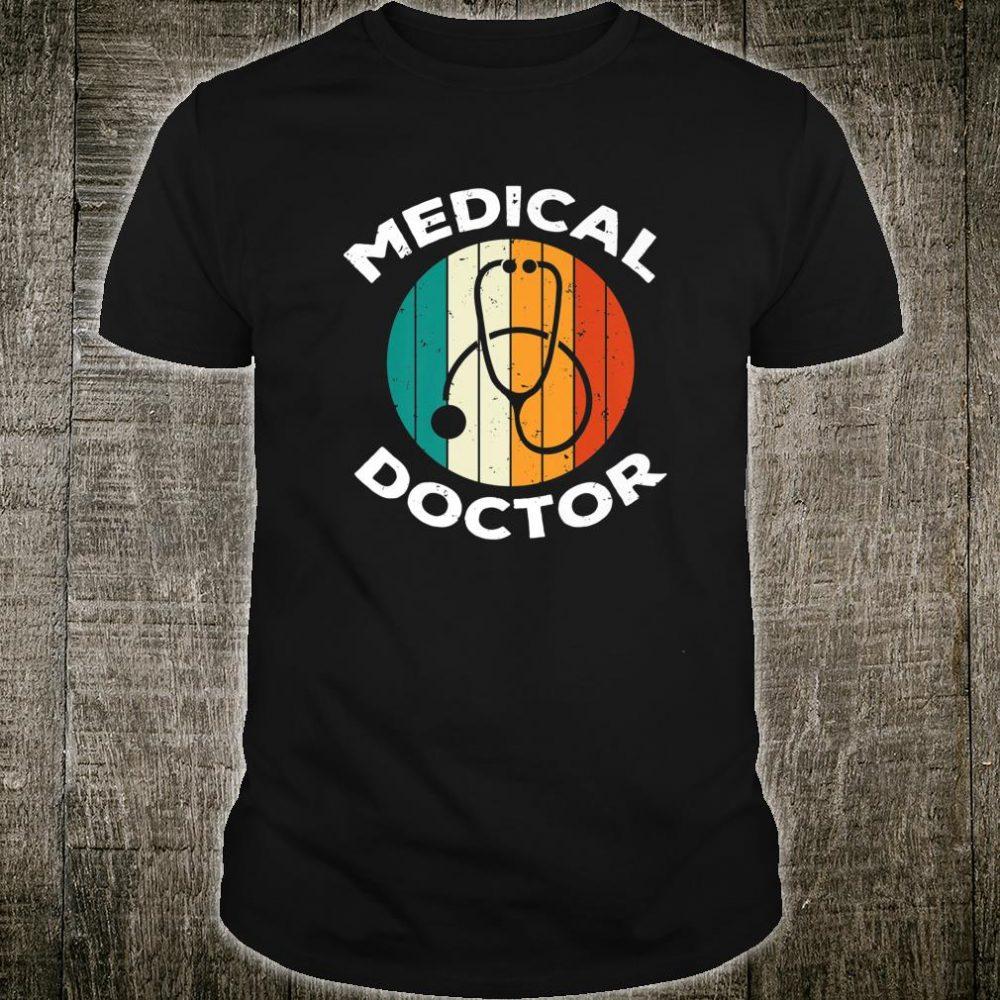 Medical Doctor Stethoscope Retro Vintage Shirt