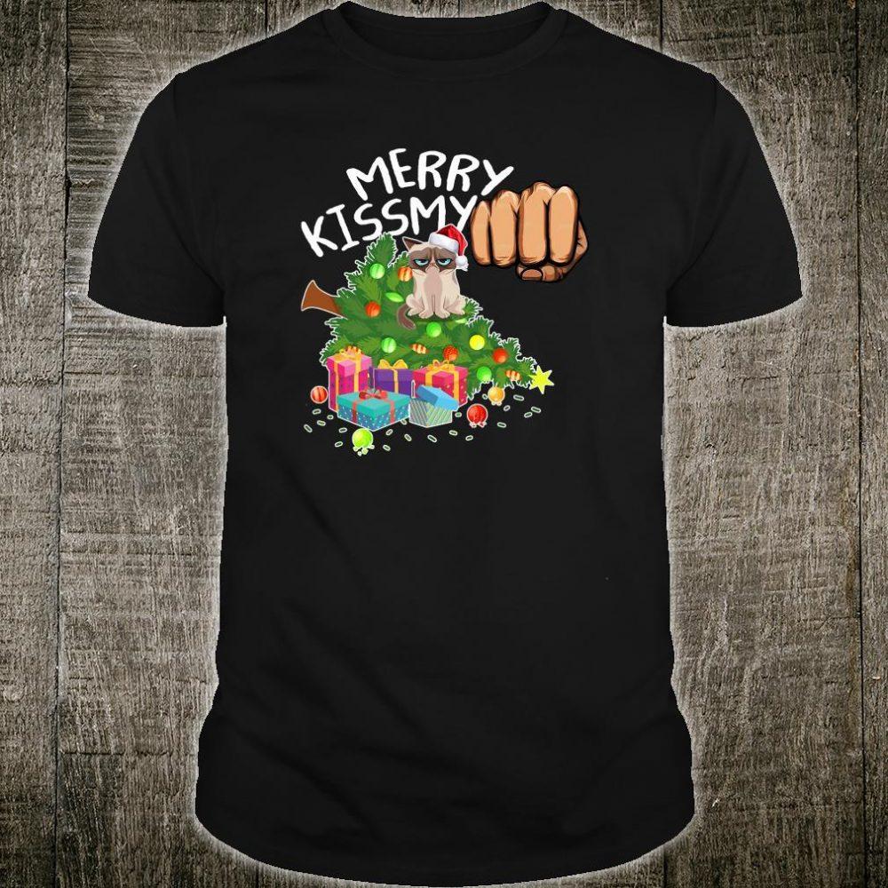 Merry kiss my shirt