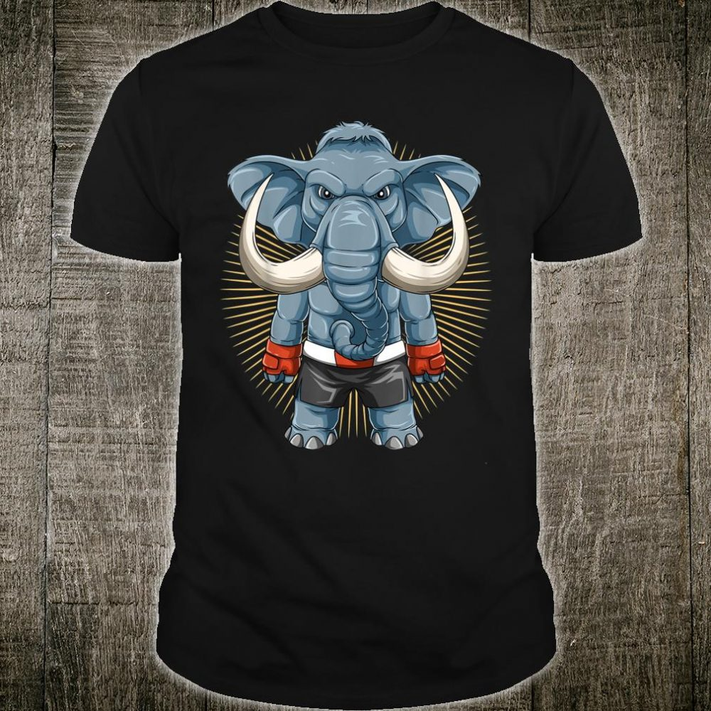 Mixed Martial Arts Elephant MMA Shirt