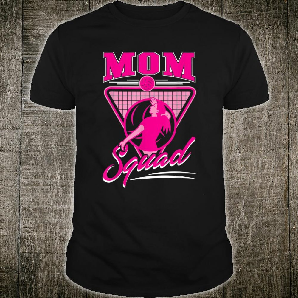 Mom Squad Volleyball Shirt