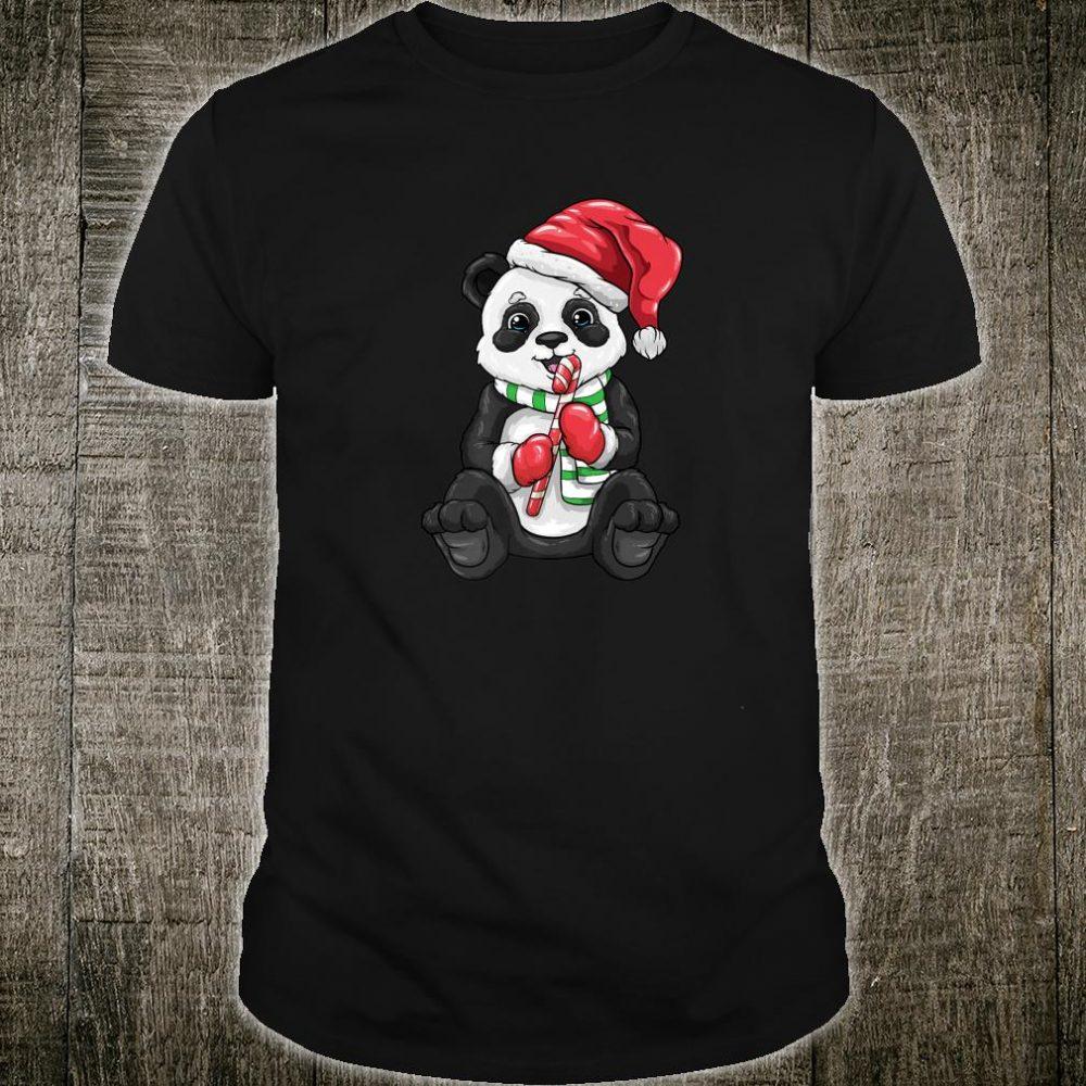 Panda Bear Christmas Sweet Panda Shirt