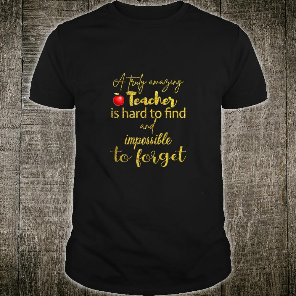 Perfect Teacher With Sayings Teacher Shirt Shirt