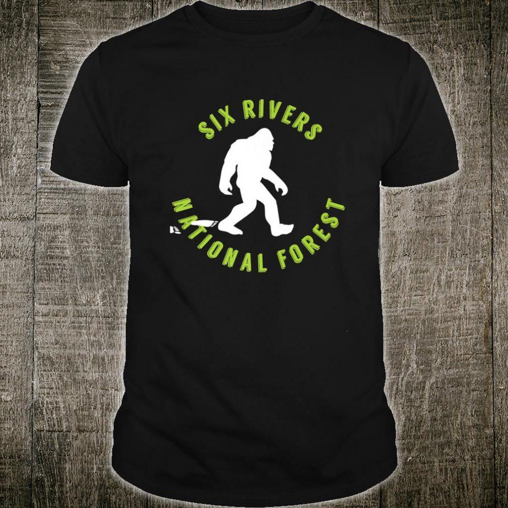 Six Rivers National Forest Bigfoot Shirt