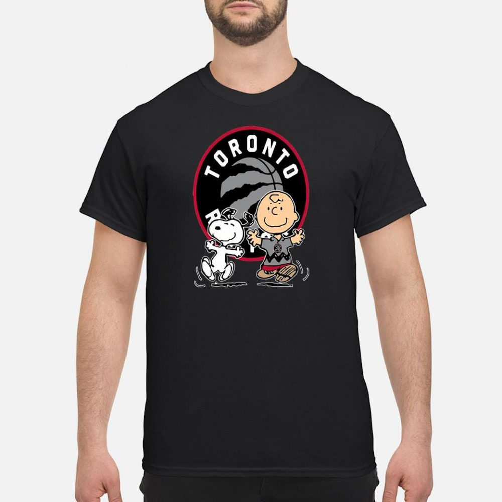 Snoopy Toronto Raptor shirt