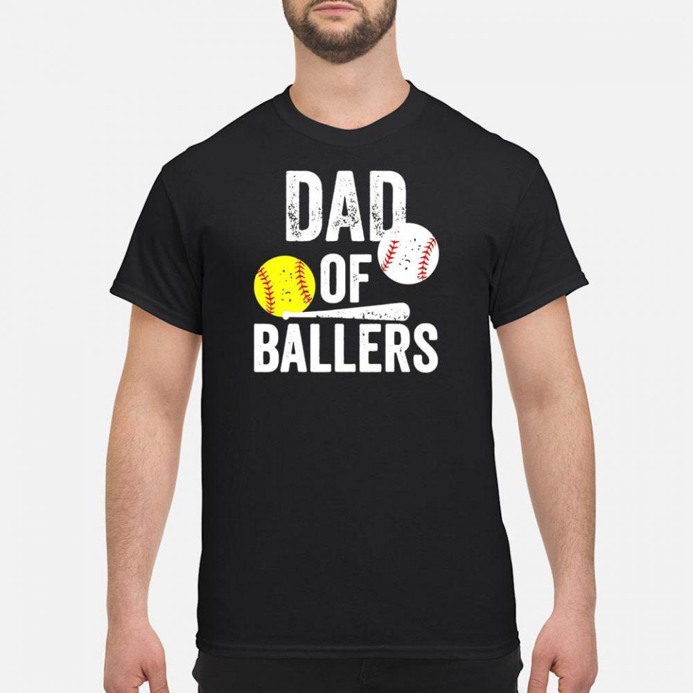 Softball Dad of Ballers shirt