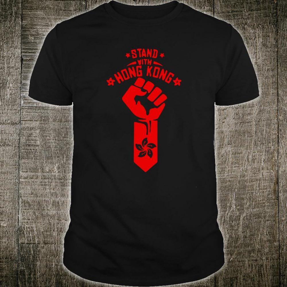Stand with Hong Kong shirt