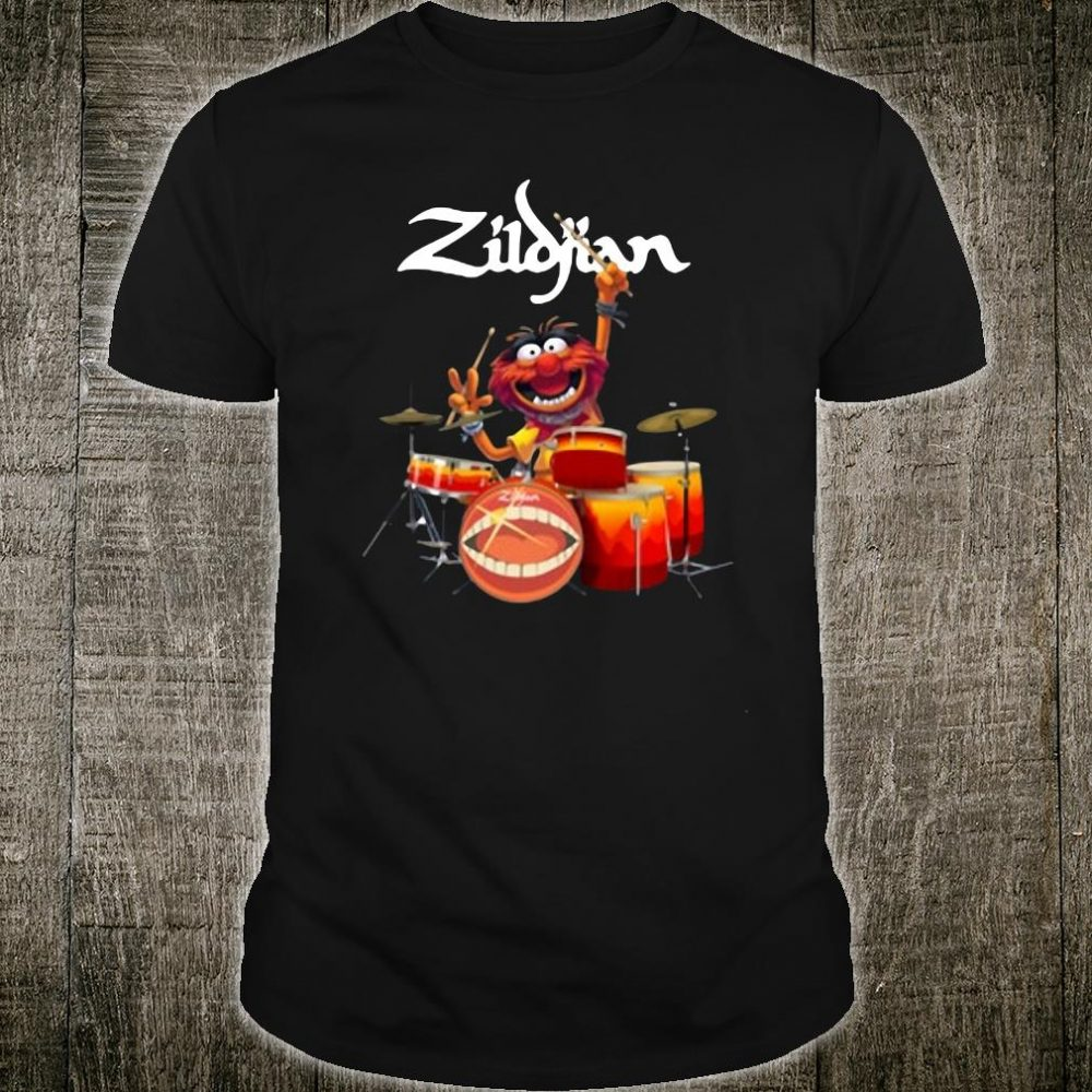 The Muppets Zildjian drums shirt