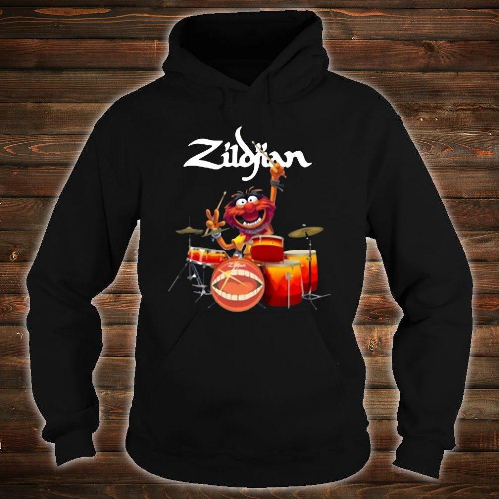 The Muppets Zildjian drums shirt hoodie