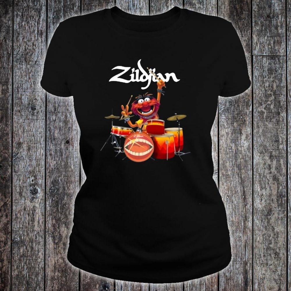 The Muppets Zildjian drums shirt ladies tee