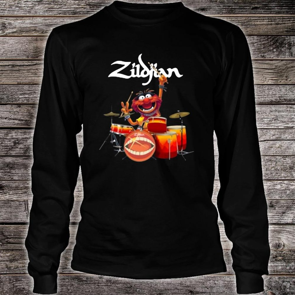 The Muppets Zildjian drums shirt long sleeved