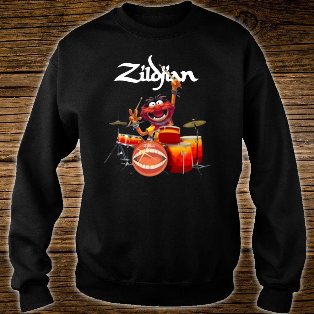 The Muppets Zildjian drums shirt sweater