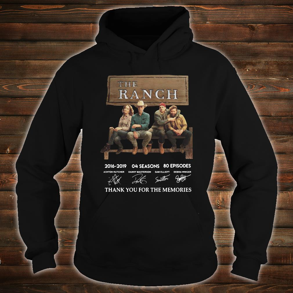 The Ranch thank you for the memories signature shirt hoodie